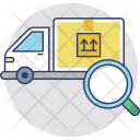Tracking Shipment Order Icon