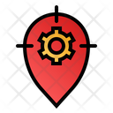 Tracking System Direction Finding Settings Icon
