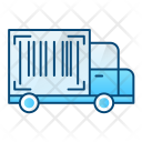 Tracking Number Truck Icon