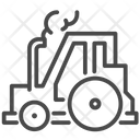 Tractor Farming Machinery Vehicle Icon