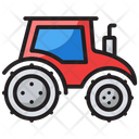 Tractor Agriculture Machine Farming Tractor Icon