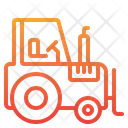 Tractor Transport Vehicle Icon