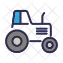 Tractor Transport Farm Icon