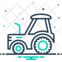 Tractor Farm Agriculture Icon