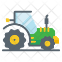 Tracter Farm Agriculture Icon