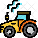Tractor Vehicle Agricultural Vehicle Icon