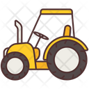 Tractor Agriculture Farming Icon