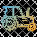 Tractor Farming Vehicle Farm Machine Icon