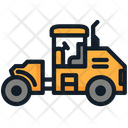 Construction Heavy Vehicle Tractor Icon