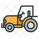 Tractor Roller Road Icon
