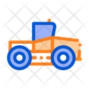 Industry Tractor Vehicle Icon