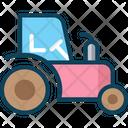 Tractorv Tractor Farming Vehicle Icon