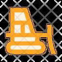 Tractor Dozer Icon