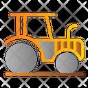 Tractor Machine Farmer Icon