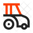 Agrimotor Tractor Icon