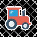 Tractor Vehicle Farming Icon