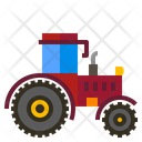 Tractor Machinery Agriculture Icon
