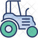 Farm Tractor Vehicle Icon