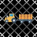Tractor Mine Vehicle Icon