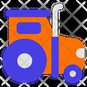 Hydraulic Excavator Transport Transportation Icon