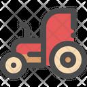 Tractor Village Farm Icon