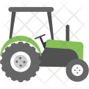 Tractor Ploughing Machine Icon