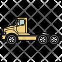 Auto Tractor Truck Icon