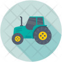Tractor Farm Agricultural Icon
