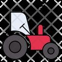 Tractor Smart Farm Icon