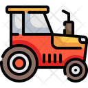 Tractor Agriculture Transportation Icon
