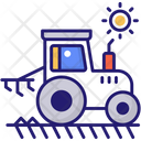 Tractor Vehicle Agriculture Icon