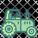 Tractor Arming Gardening Icon