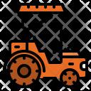 Tractor Automobile Truck Icon