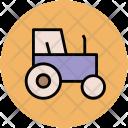 Tractor Farmer Truck Icon