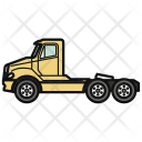 Tractor Truck Car Icon