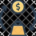 Trade Money Swap Icon