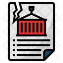 Trade agreement Icon