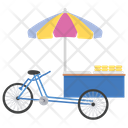 Trade Cart Food Cart Vendor Food Icon
