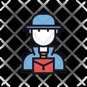 Trade Secrets Hacker Agent Icon