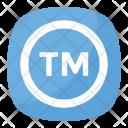 Trademark Symbol Circular Icon