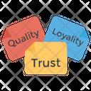 Trademark Trust Quality Icon