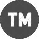 Trademark Sign Stamp Sign Icon