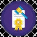 Trademark Copyright Registered Icon