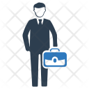 Business Businessman Officer Icon