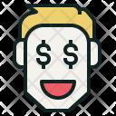 Trader Man Money Icon