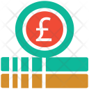 Trading Pound Currency Icon
