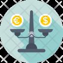 Trading Equity Balance Icon