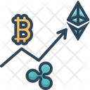Trading Coin Cryptocurrency Icon