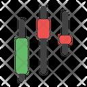 Trading Bar Chart Icon