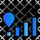 Digital Marketing Trading Money Icon